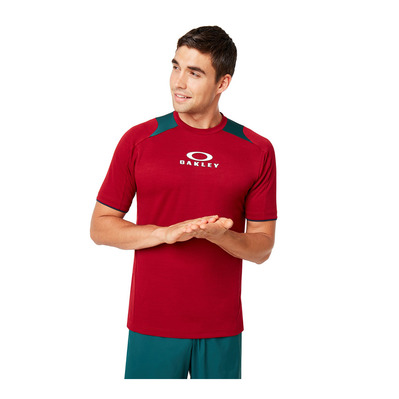 OAKLEY - ENHANCE CREW 9.7 - Maillot Homme raspberry