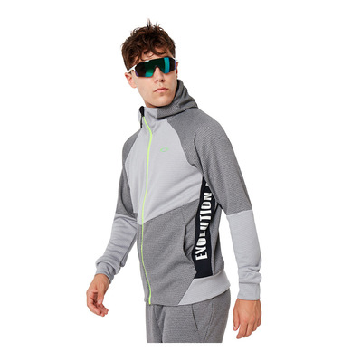 OAKLEY - ENHANCE GRID 9.7 - Sweat Homme charcoal/heather grey