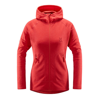 HAGLOFS - HERON - Fleece - Women's - hibiscus red