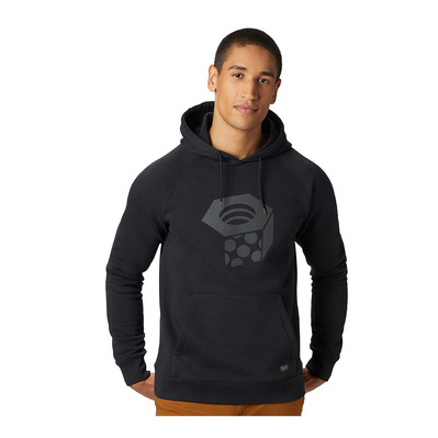 MOUNTAIN HARDWEAR - LOGO HARDWEAR HOODY - Sweat Homme black