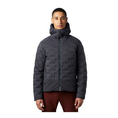 MOUNTAIN HARDWEAR - SUPER DS CLIMB - Down Jacket - Men's - dark storm