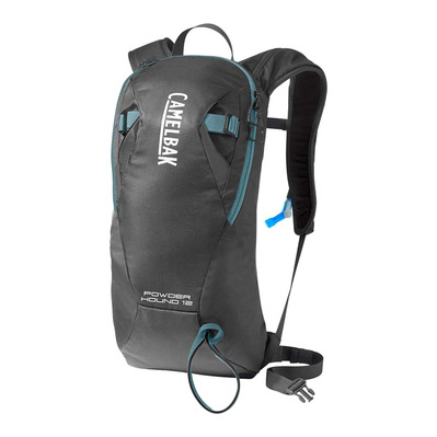 CAMELBAK - POWDERHOUND 9+3L - Mochila de hidratación graphite/adiratic blue