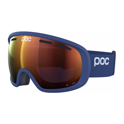 POC - FOVEA CLARITY - Masque ski lead blue/spektris orange