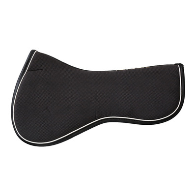 KENTUCKY - ABSORB - anatomisches Sattelpad - black/black