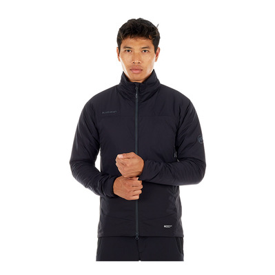 MAMMUT - RIME HYBRID FLEX - Jacket - Men's - black/phantom