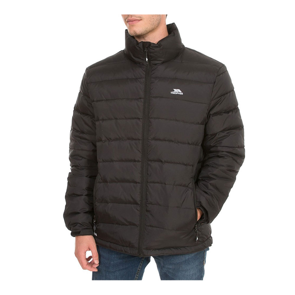 Trespass Mens Retreat Full Zip Up Down Jacket