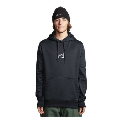 BILLABONG - BASQUIAT THERMAL FLE - Sweat Homme black