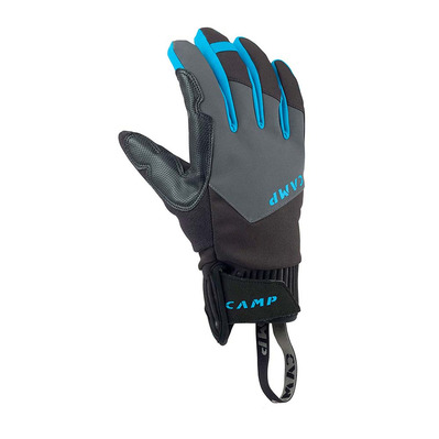 CAMP - G TECH DRY - Guantes black/grey/blue