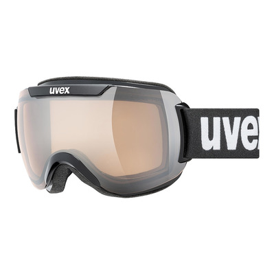 UVEX - DOWNHILL 2000 V - Masque ski photochromique black/vario silver mirror