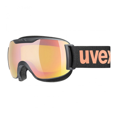 UVEX - DOWNHILL 2000 S CV - Masque ski black mat/mirror pink vista