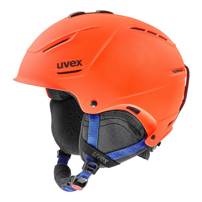 UVEX - P1US 2.0 - Casco de esquí orange/blue mat
