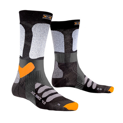 X-SOCKS - X-COUNTRY RACE 4.0 - Ski Socks - black/grey
