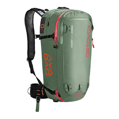 ORTOVOX - ASCENT 28 S AVABAG KIT Unisexe green isar