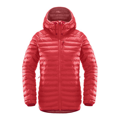HAGLOFS - CHILL MIMIC - Down Jacket - Women's - hibiscus red