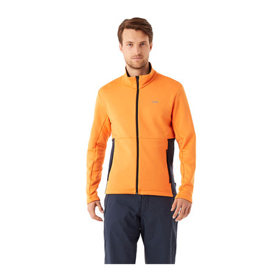 COLMAR - FULL ZIP STRETCH - Sweat Homme orange pop/blue black
