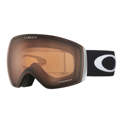 OAKLEY - FLIGHT DECK XL - Skibrille - matte black/prizm persimmon
