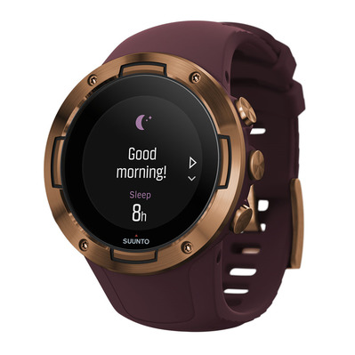SUUNTO - 5 - Montre connectée burgundy copper