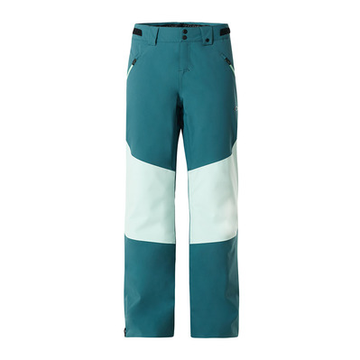OAKLEY - MOONSHINE INSULATED - Pantalon ski Femme electric shade