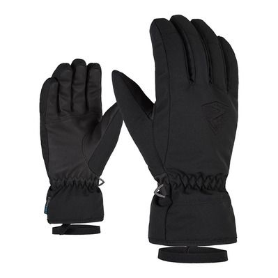 ZIENER - GERINO AS - Gants ski Homme black