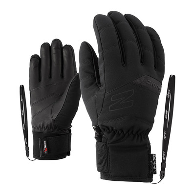 ZIENER - KOMI AS(R) AW lady glove Femme black