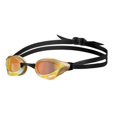 ARENA - COBRA CORE SWIPE MIRROR - Gafas de natación yellow copper/gold