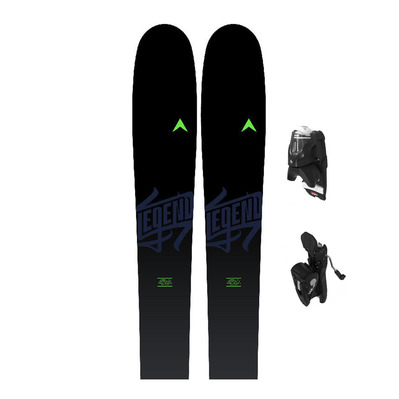 LEGEND 88 - Esquís all mountain hombre + fijaciones SPX 12 GW B90 black
