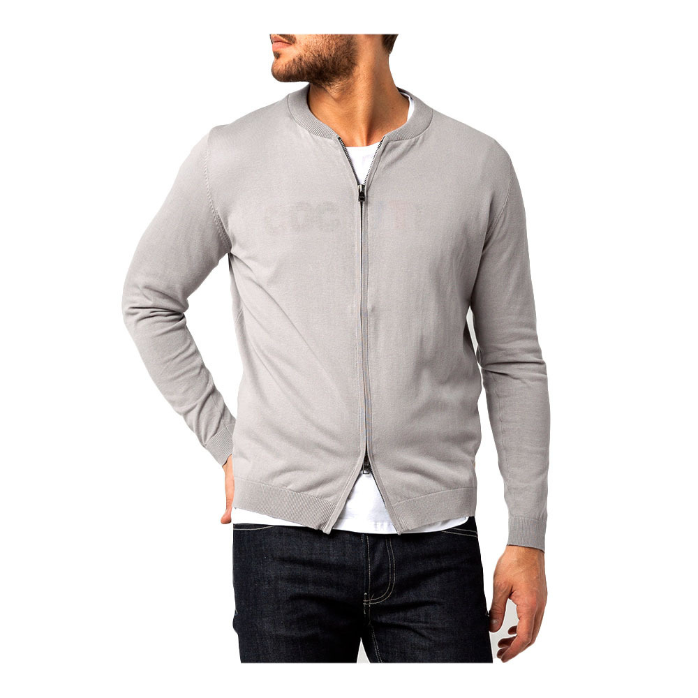 Tallas Grandes Xl Y Serge Blanco Pul1802a 19000 Chaqueta De Punto Hombre Heather Grey Private Sport Shop