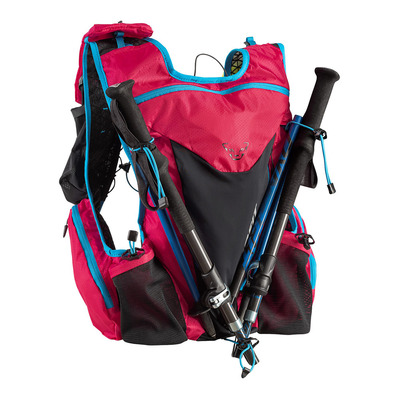 DYNAFIT - ENDURO 2.0 12L - Sac d'hydratation fluo pink/methyl blue