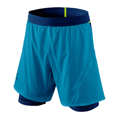 DYNAFIT - ALPINE PRO 2IN1 - Short Homme mykonos blue