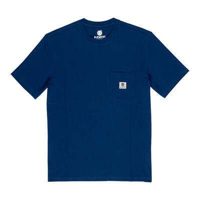 ELEMENT - BASIC POCKET LABEL - T-shirt Uomo blue depths