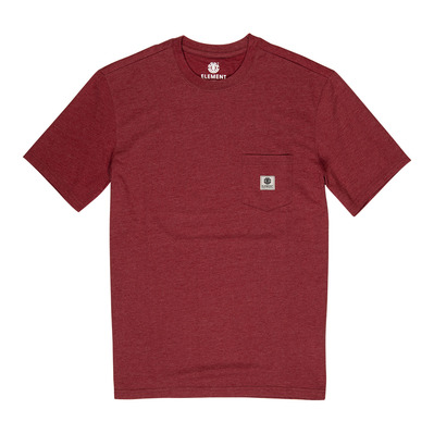 ELEMENT - BASIC POCKET LABEL - Tee-shirt Homme port heather