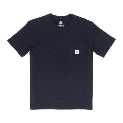 ELEMENT - BASIC POCKET LABEL - Tee-shirt Homme flint black