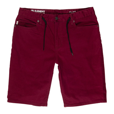 ELEMENT - E02 COLOR WK - Short hombre napa red
