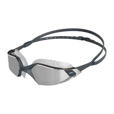 SPEEDO - AQUAPULSE PRO MIRROR - Gafas de natación grey/silver