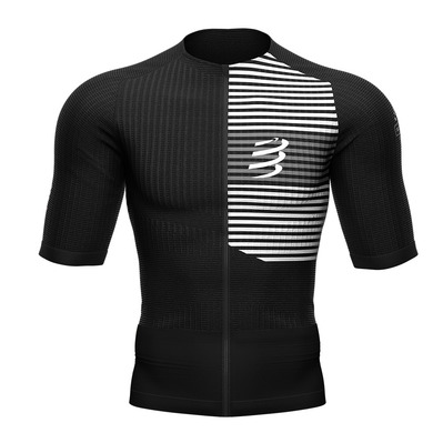 COMPRESSPORT - TRIATHLON POSTURAL - Camiseta hombre black