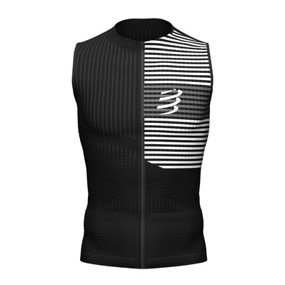 COMPRESSPORT - Tri Postural Tank Top Homme BLACK