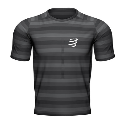 COMPRESSPORT - Performance SS Tshirt Homme BLACK