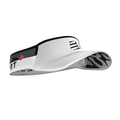 COMPRESSPORT - ULTRALIGHT - Visera white