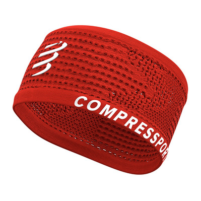 COMPRESSPORT - Headband On/Off Unisexe RED
