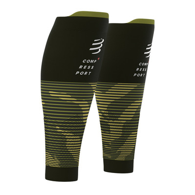 COMPRESSPORT - R2 V2 - Medias camo green