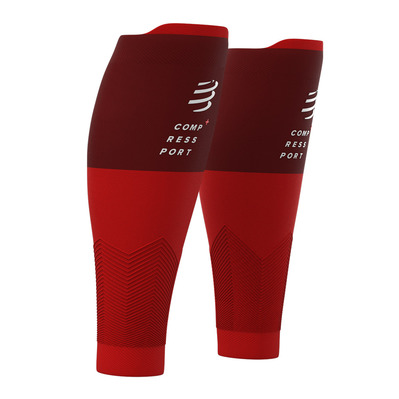 COMPRESSPORT - R2 V2 - Manchons red