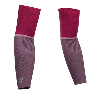COMPRESSPORT - ARMFORCE - Manchettes pink melange