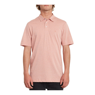 VOLCOM - WOWZER - Polo - Men's - sandstone
