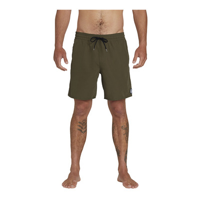 VOLCOM - LIDO SOLID TRUNK - Boardshort Homme military