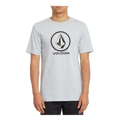 VOLCOM - CRISP STONE BSC - T-shirt Uomo heather grey