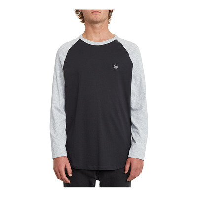 VOLCOM - PEN BSC LS Homme HEATHER GREY