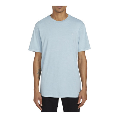 VOLCOM - SOLID STONE EMB S/S TEE Homme COOL BLUE