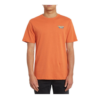 VOLCOM - DAYBREAK - T-shirt Uomo burnt orange