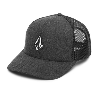 VOLCOM - FULL STONE CHEESE - Casquette Homme charcoal heather