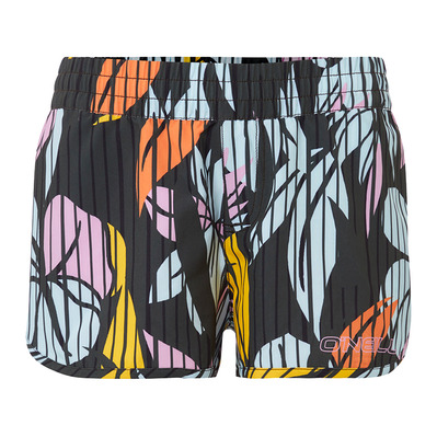 O'NEILL - Mix shorts Femme GREEN AOP W/ PINK OR PURPLE